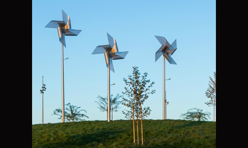 ex;it and Selbert Perkins Design collaborated on a unique public art program that tells the community's stories--and leverages the desert area's high winds.