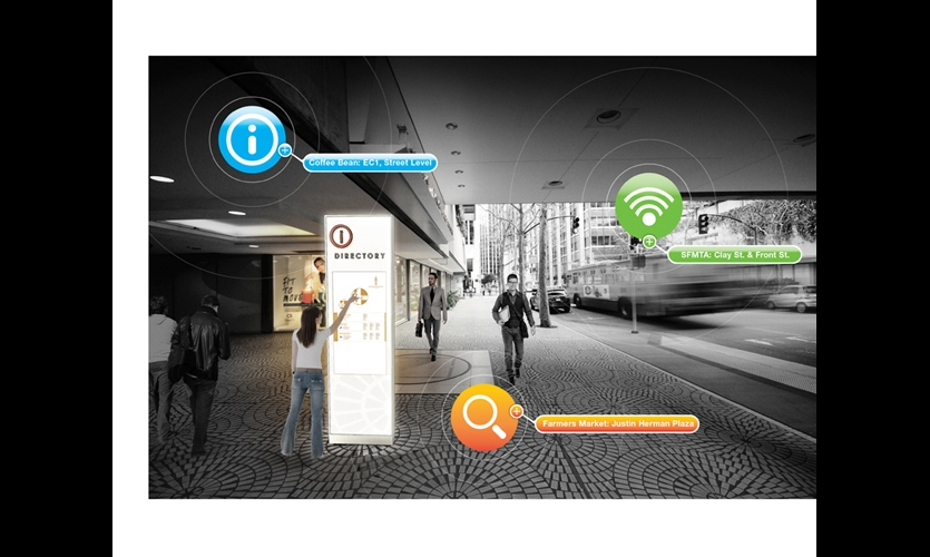 Embarcadero Center Digital Wayfinding Segd