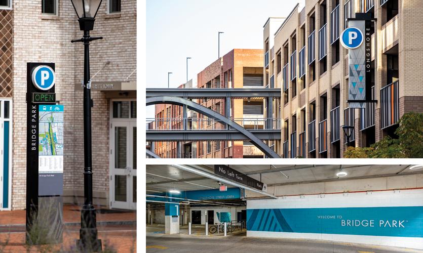 City of Dublin: Comprehensive City Wayfinding and Bridge Park: Mixed-Use Development, Dublin, OH