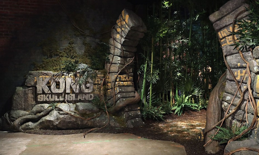 Kong Skull Island at Madame Tussauds in New York