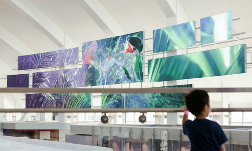 The Storyboard is a 120-foot-long, digital version of the medium so commonly used in Los Angeles creative industries.