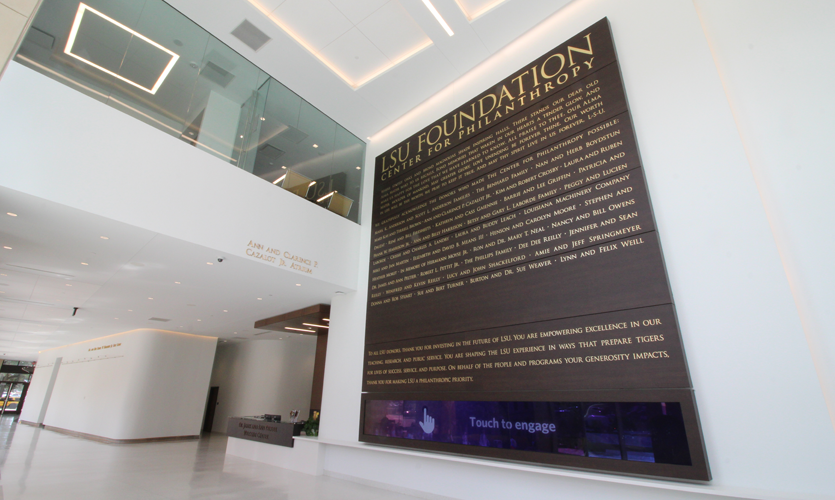 LSU Touch Video Wall