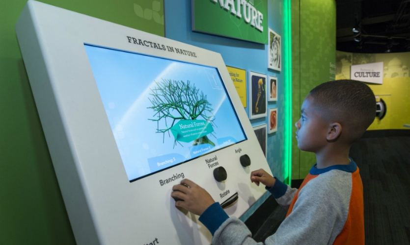 Leviathan created 12 interactive stations that help reinforce the fun factor (and the learning).