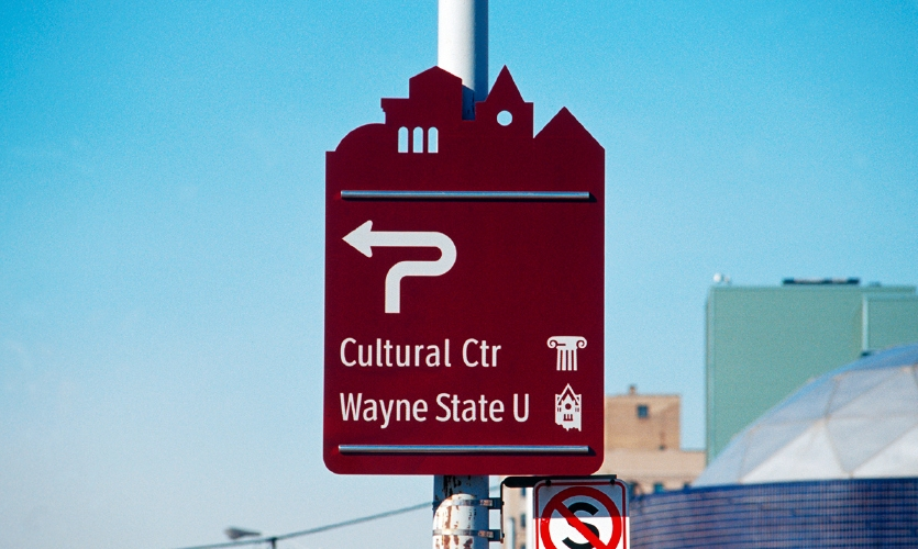 City of Detroit Wayfinding