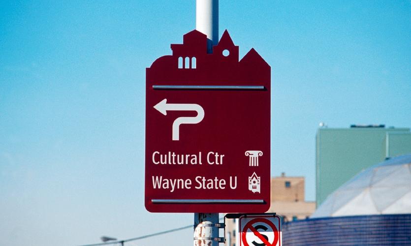 City of Detroit Wayfinding
