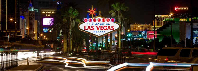 Welcome to Fabulous Las Vegas Sign by Betty Willis
