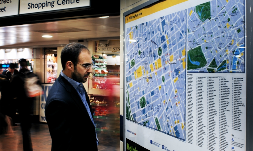 Mapping designed for pedestrians is key to helping people navigate the city.