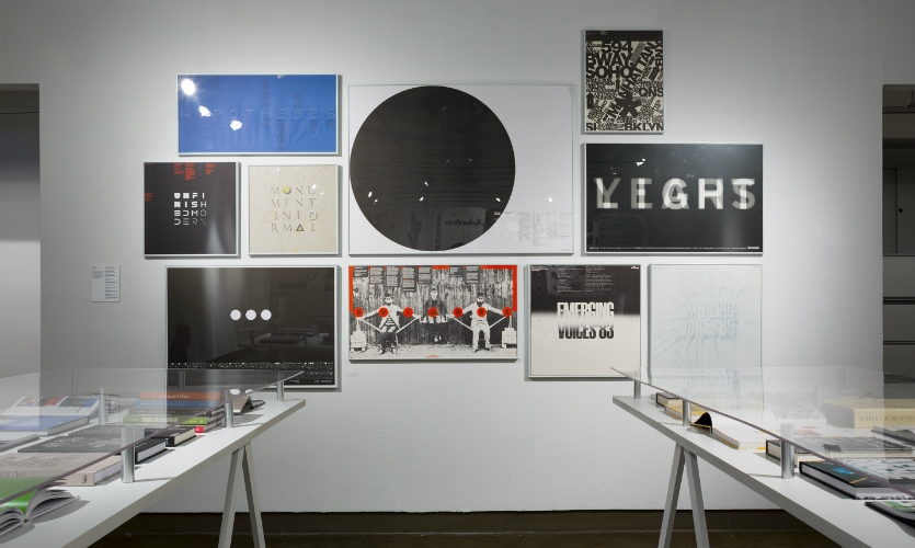 Posters for the Architectural League of New York (Photo: Bilyana Dimitrova)