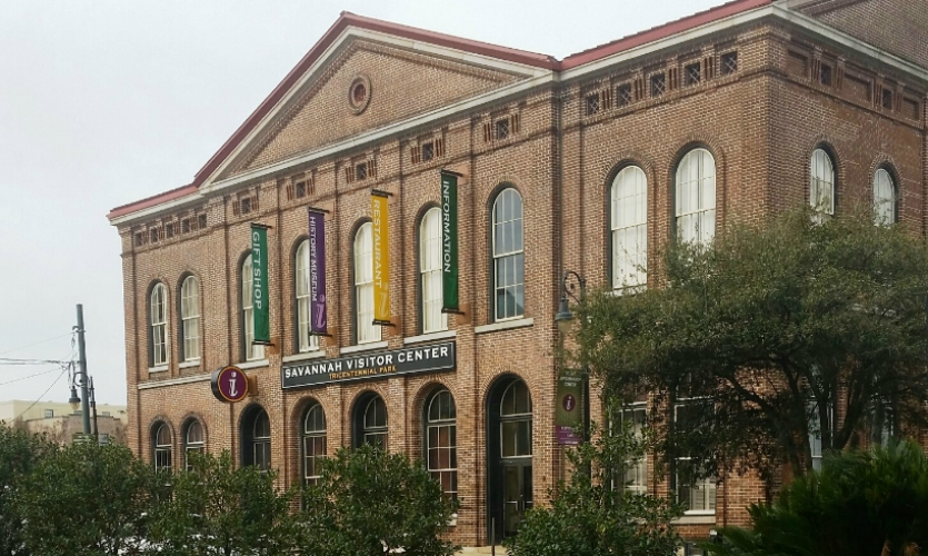 Savannah is implementing its program in multiple phases, including a recent installation of banners at the visitor center.