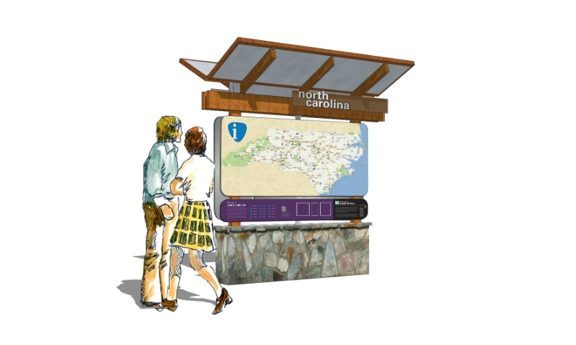 MERJE is coordinating a multidisciplinary project that includes digital tools as well as signage and visitor kiosks.