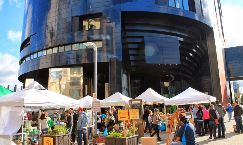 Get up early Saturday morning to check out the local Mill City Farmers Market, just down the street from the hotel.