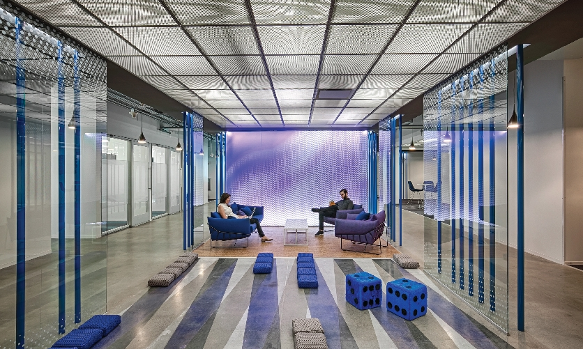 An integrated experiential and architectural design team developed the workplace strategy in tandem, breaking down the barriers of design roles to produce a holistic experience.