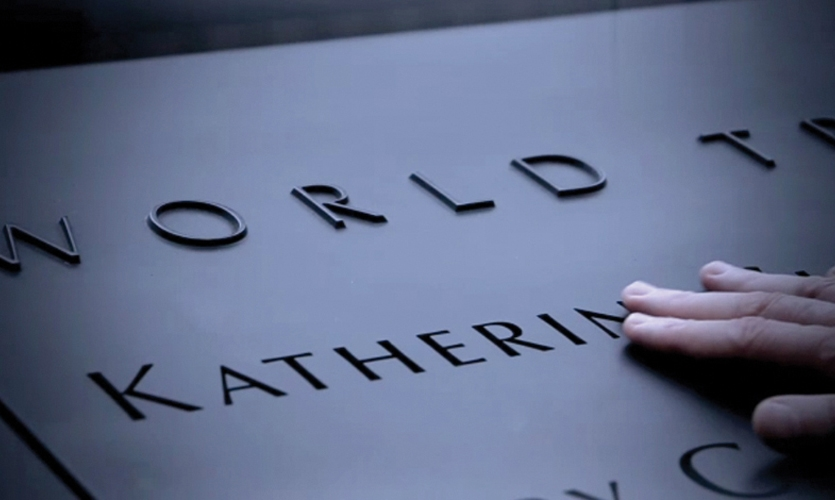 """In a project full of challenges, one of the most complex was finding a meaningful way to arrange the 2,983 victims' names. Arad committed to a system of """"meaningful adjacencies,"""" and he worked with victims' families to ensure names appeared within affinity groups such as the 1993 WTC bombing, Flight 93, the North or South Towers, or first responders. (Photo: Joe Woolhead)"""