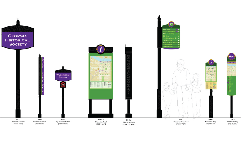 Savannah Wayfinding by Merje (West Chester, PA)
