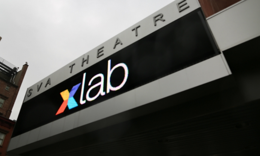 Xlab 2015 will be held at the SVA Theatre in Chelsea.