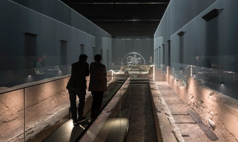 Temple of Mithras | London Mithraeum, Bloomberg Space, London, 2017 | Local Projects, Museum of London Archaeology