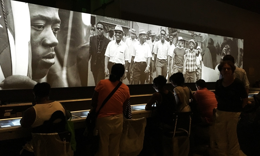 The Segregated Lunch Counter and Panorama of the Civil Rights Movement, Merit Award 2017