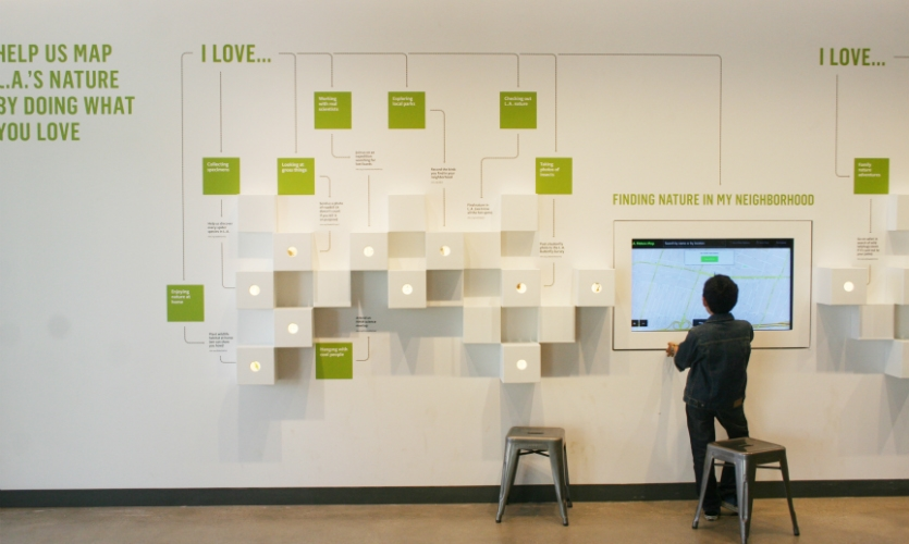 """It combines hands-on learning, live animals, and new media to invite visitors to """"find their nature eyes."""""""