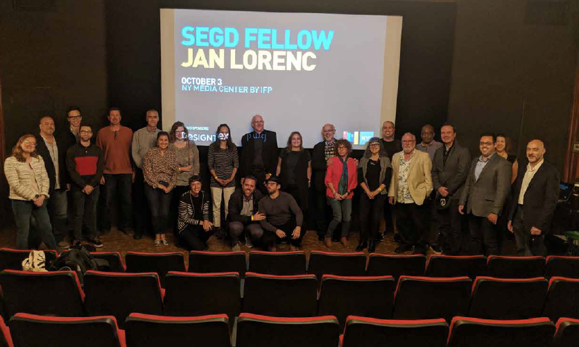 Jan Lorenc Talk—SEGD New York Chapter