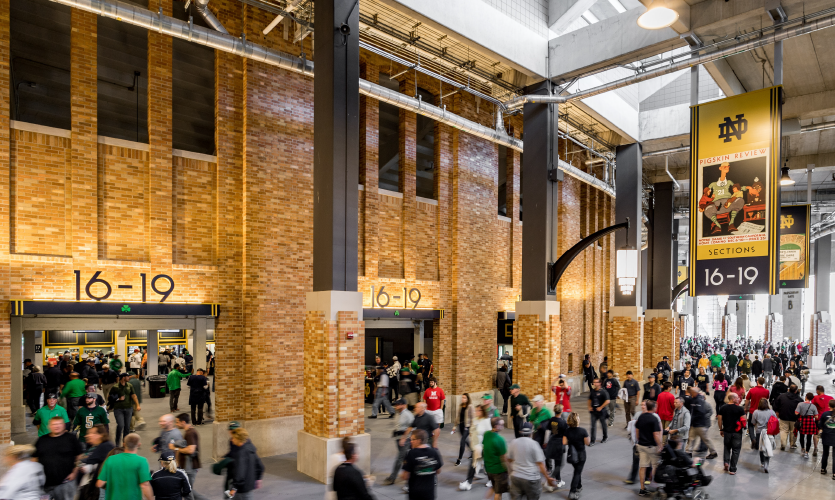 Placemaking and Identity: Notre Dame Stadium Enhancement