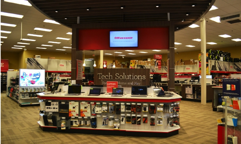 Office Depot is using digital technology in a variety of ways in-store--from digital signage to augmented reality--to enhance the shopping experience and inspire brand loyalty in its customers.