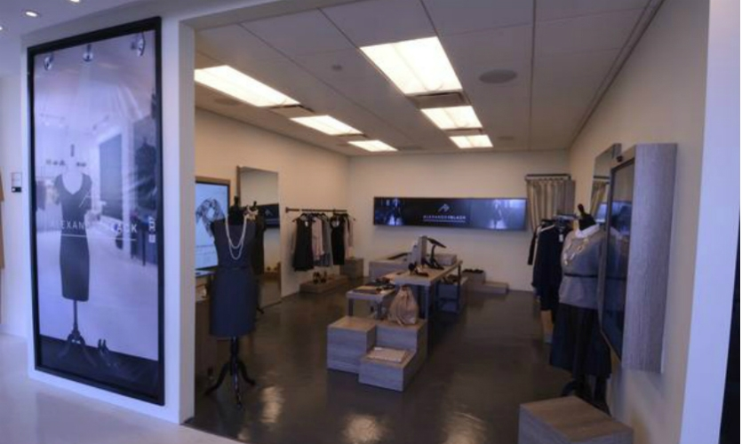 OpenEye worked with BT to create an environment demonstrating to retailers how technologies such as RFID, Gender Recognition Display, and Interactive Displays could be used to create a customized retail experience.
