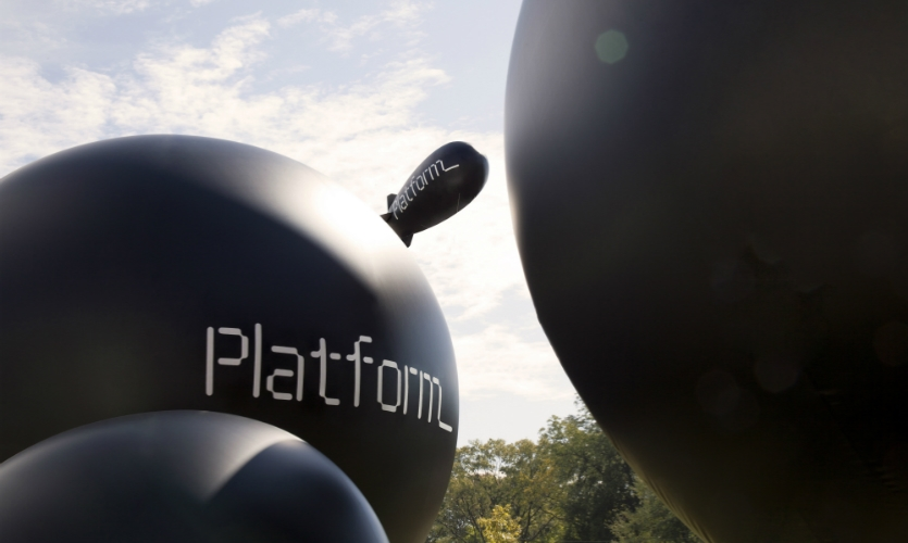 Honor Award / Best of Show: Platform Summit 2014 Event Graphics (Pentagram)