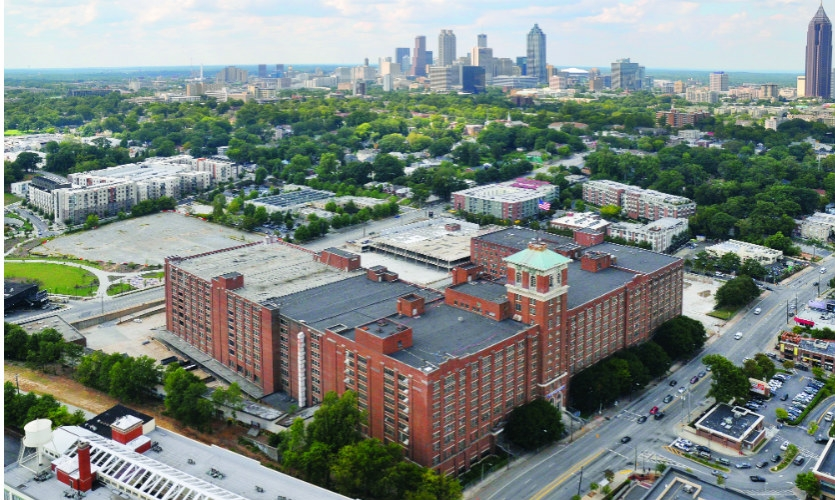 Jamestown purchased the massive building from the City of Atlanta in 2011. The largest brick building in the southeastern U.S., it was underutilized as a City Hall annex, used largely for storage.