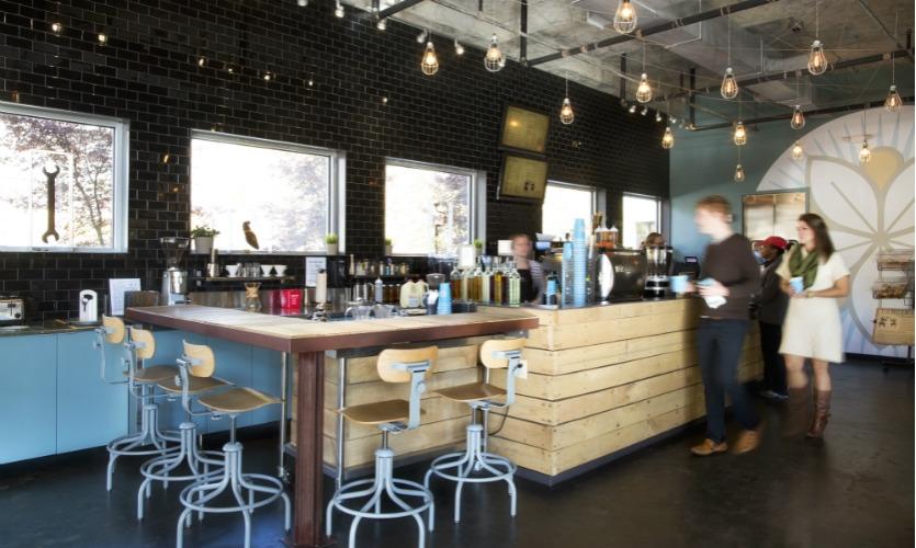 A coffee shop called Dancing Goats is already open. (Photo: Sarah Dorio)