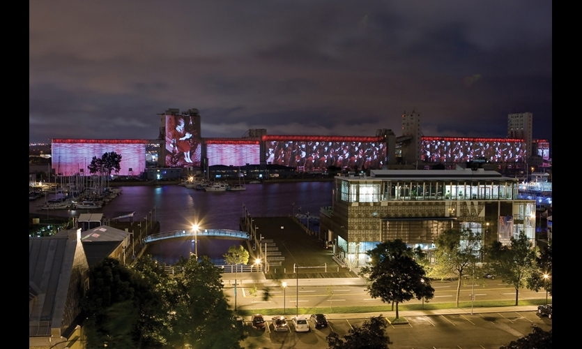 By 2011, projection mapping was creating new possibilities for cityscapes. Quebec City commissioned Robert Lepage (Ex Machina) and The Projection Studio to create a visual spectacle for its 400th birthday.
