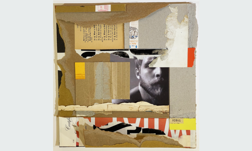 Richard Poulin's collage work