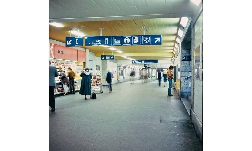 In 1980, Olten was one of the first stations to use the Visual Information System. (© Peter Spalinger, Bremgarten)