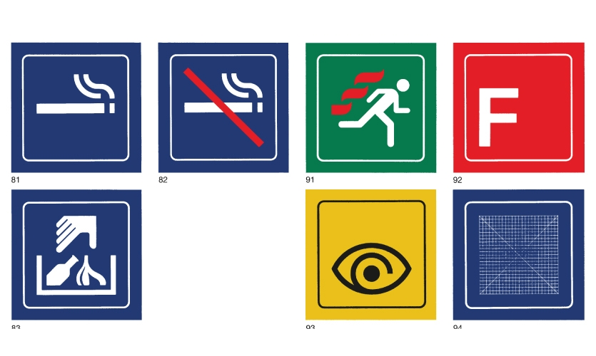 Symbols from the Visual Information System