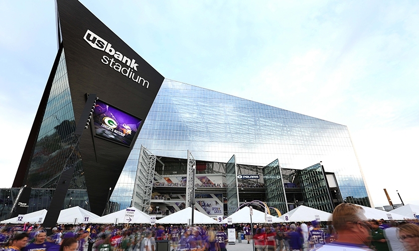 US Bank Stadium with Selbert Perkins Design and Infinite Scale