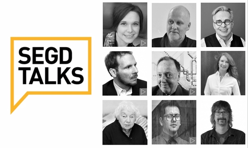 Press play on 10 inspiring SEGD Talks.