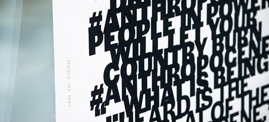 Anthropo—Scenes: Installation, 2020