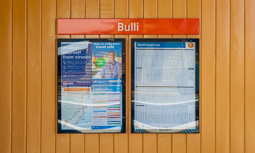 Bulli Station Sign