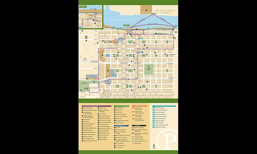A new city map is a key component of the system.