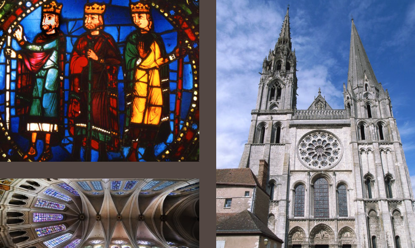 I apprenticed in France, where we helped restore some of the stained glass at Chartres Cathedral