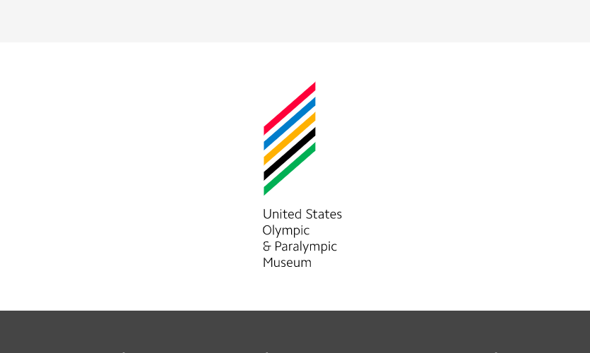 The new USOPM logo was designed by award-winning firm Chermayeff & Geismar & Haviv and take clues from the Olympic rings, Paralympic agitos, the American flag, and the building's façade.