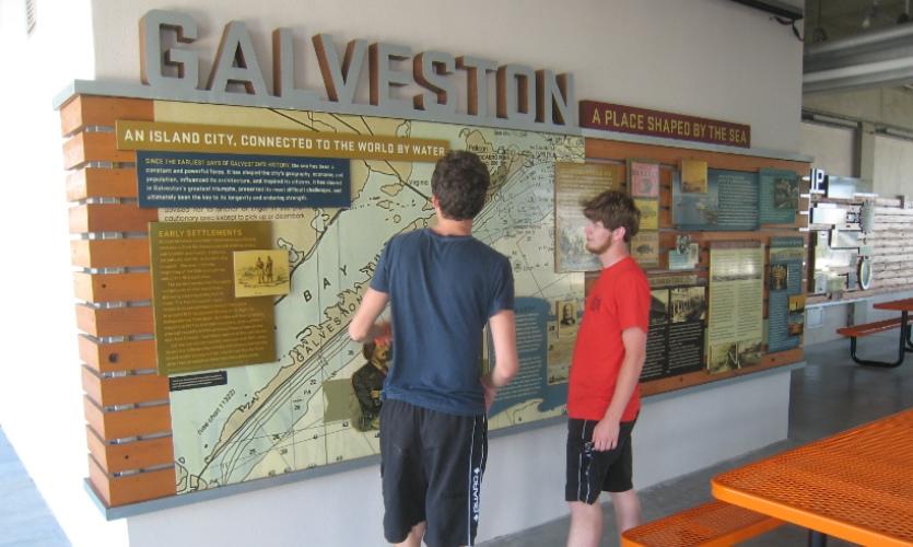 Sea Scout Base Galveston on Galveston Island