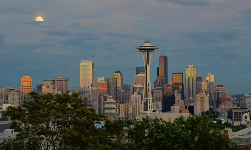 The Space Needle was built for the 1962 World's Fair in Seattle. (Photo: Kevin Ristora)