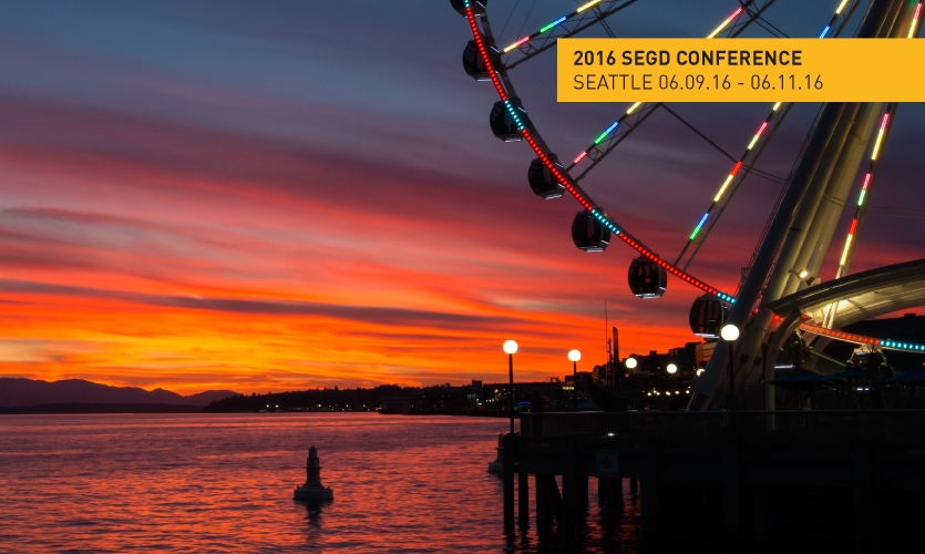 Design/tech/innovation hub Seattle is a great setting for the 2016 SEGD Conference June 9-11.