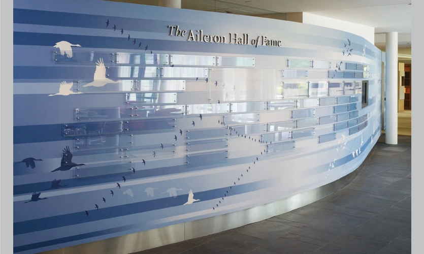 Aileron Hall of Fame (Photo: Alan Karchmer)