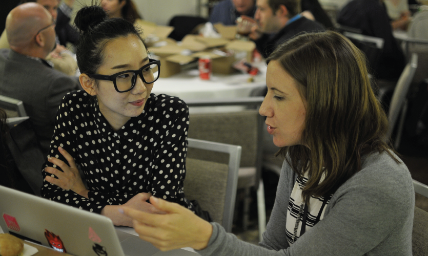 Seattle also hosted the most well-attended Young Designer's Summit, where Board Members and Chapter Chairs met with students and young members. [2016 Seattle Conference]