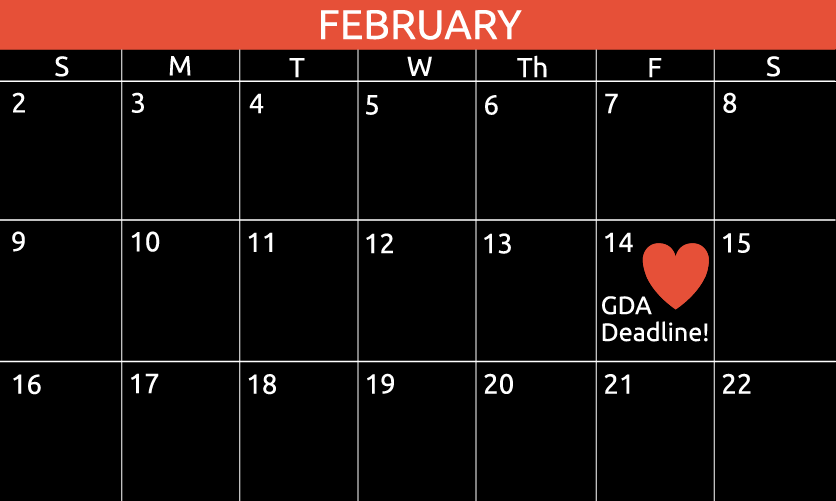 Don't forget the big day—the deadline for the 2020 Global Design Awards, Feb. 14!