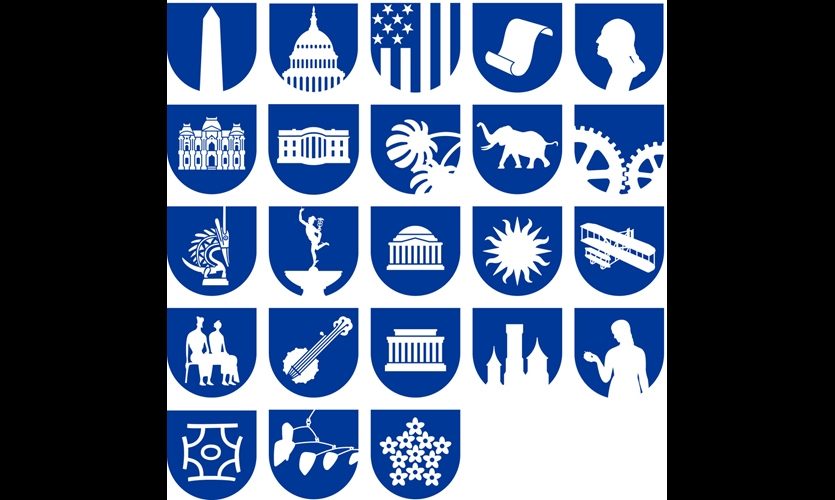 Wyman's Smithsonian pictograms have inspired hundreds of symbol systems.