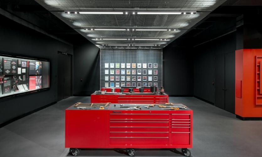 Snap-on Museum Experience | SEGD