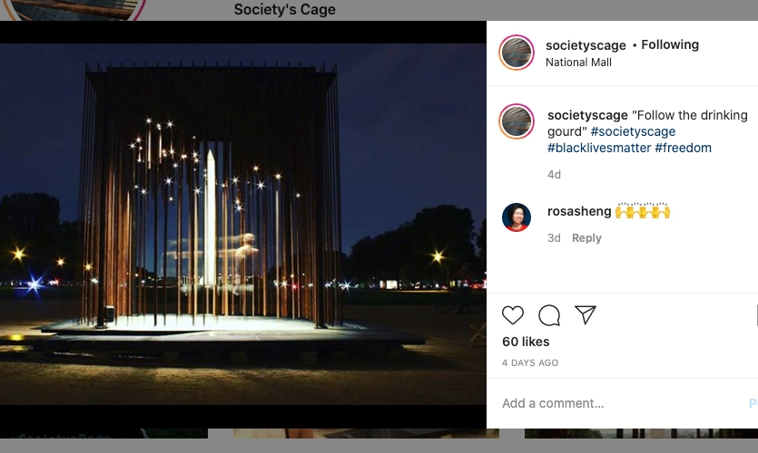 Society's Cage is already building a following on instagram.
