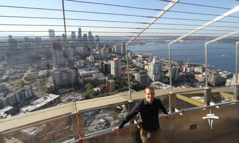 In 2014, Stimulant created a new suite of interactives at Seattle's Space Needle.